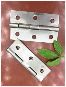 China Pole Fixed Pin Cast Iron Door Hardware , Wooden Door Internal Door Hinges Durable on sale