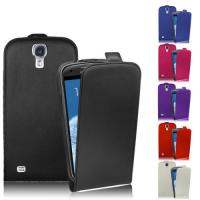 Ultra Slim Leather Flip Case Samsung Galaxy S4 phone Covers Black / Red / White