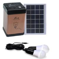 Rechargeable Led Solar Home Lighting System , Small Solar Power System Kit