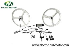 China 36V 250W Electric Bike Hub Motor Conversion Kit With Controller Brake Lever Switch on sale