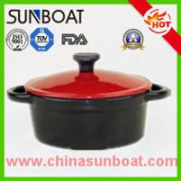 China Kitchen cookware cast iron customized color enamel dutch oven casserole on sale