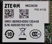 China GSM/GPRS Module:ZTE MG2639 on sale