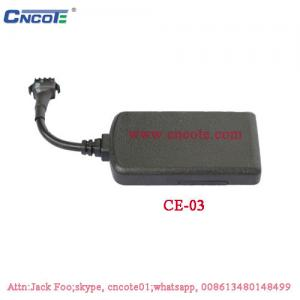 China GPS tracking device gadget for motorcycle and vehicle, Model: CE-03 on sale