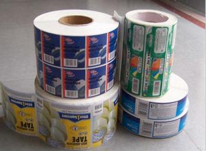 China Custom Printed self adhesive label paper self adhesive labels manufacturers on sale