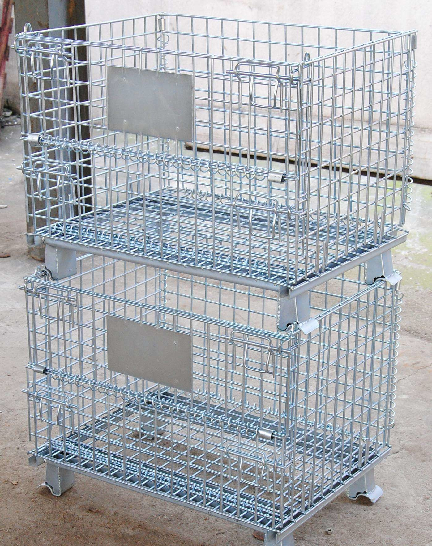 roll cage,portable cages,storage cages,roll Wire Container For ...