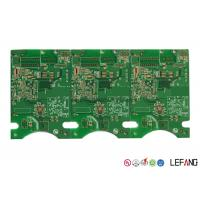 GPS Receiver Module Multilayer PCB Fabrication , Main Printed Circuit Board