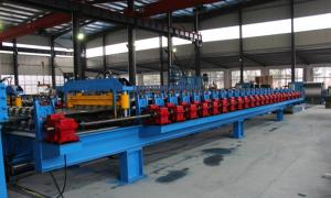 China High Speed Roofing Corrugated Sheet Roll Forming Machine 37kw 0 - 35 M / Min on sale