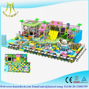 China Hansel hot selling PVC material indoor playing equipments for baby on sale
