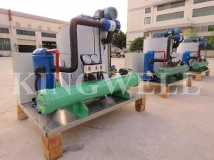 China Sea Water Or Fresh Water Ice Flake Making Machine 3 Tons 5 Tons Per Day on sale