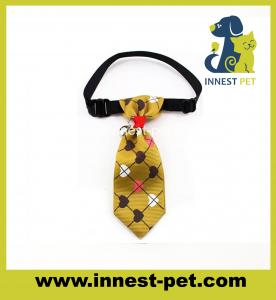 China High Fashion Woven Cotton Wholesale Dog Bow Tie on sale
