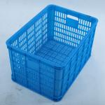 Plastic crate and basket