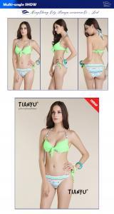 China Wholesale - Newest Women's Bandage Bikini Set Push-up Padded Cup Swimsuit Elastic Straps Bathing on sale