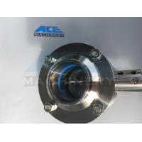 Stainless Steel Three-Way Thread Butterfly Valve (ACE-DF-2C)