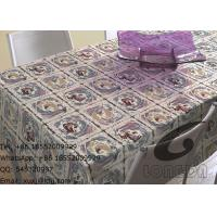 Household Polyester Table Cloths And Decorative Window Curtains , Beautiful Roses
