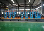Automatic ERW Pipe Mill Line / Carbon Steel Tube Production Line