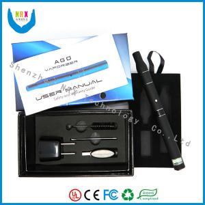 Quality 650mah Ago G5 Wax E Cigarette With 1500 Puffs Dry Herb Vaporizer for sale