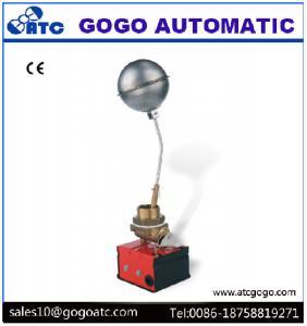 China Interruptor de flutuador de aço inoxidável 1 da válvula de controle do nível da água do globo GG-01 bola de flutuação para o controle nivelado do vapor on sale