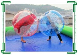 China PVC Football Inflatable Bumper Ball / Human Body Bumper Ball on sale
