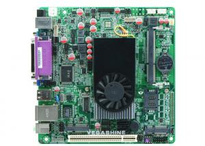 China 8USB 2.0 ,  2 Com ATOM D525 Mini-Itx industrial computer Motherboard Support Wifi / 3g on sale