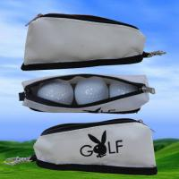 New Style Golf Zippered Ball Pouch