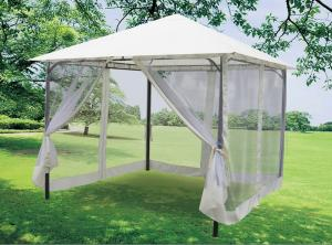 China Steel Tube Commercial Pop Up Canopy With Mosquito Net / foldable gazebo 3m x 3m on sale