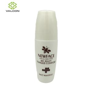 China White Plastic Lotion Bottles , Plastic Tube Packaging Glossy Surface on sale