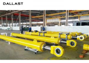 China Industry Flange Hydraulic Oil Cylinder 25MPa Working Pressure for Dam Gate on sale