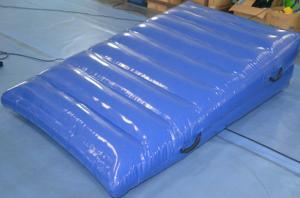 China Blue Commercial Gym Mats , EVA Foam Mats Digital Printing With Liquid Film Protection on sale