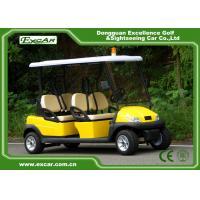 Aluminium 4 Seats ADC 48V 3.7KW Electric Patrol Car / Electric Cruise Vehicle