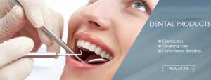 China Dental examination products Tongue depressor Denture box Mouth mirror Surgical suction tip Dental protective film Dental on sale