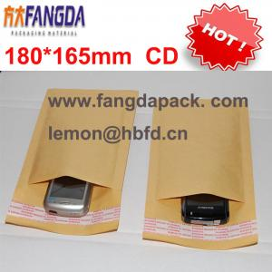 China 180'*165mm Customized kraft  paper air Bubble mailer padded envelope #CD on sale