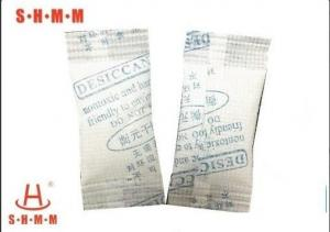 China Moisture Absorber 3g Silica Gel Desiccant Without DMF For Food Transportation on sale