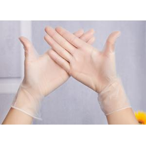 China Le PVC jetable a pointillé la teinture capillaire de gants protectrice/les gants du vinyle de salon de coiffure main de soin/PVC on sale