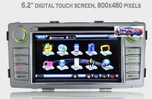 China Toyota Hilux Headunit GPS Navi Car Stereo GPS Navigation Headunit for Toyota Hilux 2012+ supplier