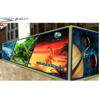 Mobile 6D Movie Theater Simulator With Audio /Broadcast System And Polarized Glasses