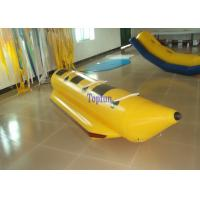 Summer Single Lane Inflatable Fly Fishing Boats 3 Person Team Banana Boat Race