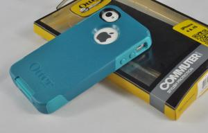 China TPU 2-Layer Iphone 4 Hard Shell Case Light Teal For Men on sale