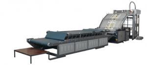 China Improve Efficient Sheet / Film Lamination Machine Automatic Gluing Avoid Glue Waste on sale