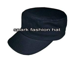 Quality Plain cotton army cap for men for sale
