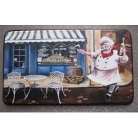 China 46*76cm Decorative Door Mats For Kitchen Room Restaurant Caffee Bar on sale