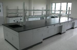 China Anti Aging Science Lab Tables Work Benches Adjustable Height With Customized Size on sale