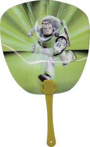 China Customized Small Fan 3D Lenticular Image Printing Changeable Image on sale