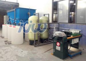 China 30T/H  Industrial Waste Water Treatment Plant For Electroplating on sale