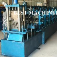 China Adaptable Top Hat Batten 16mpa Metal Purlin Roll Forming Machine on sale