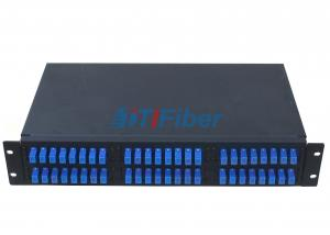 "China Fixed 19"" Fiber Optic Patch Panel ODF Box for Rack Mount Cabinet on sale"