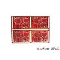 China 6 Layers High Frequency PCB FR - 4 Material For Communication Power Amplifier on sale