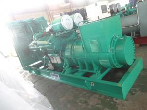 China 3 Pole MCCB Open Type Diesel Generator Three Phase 400KW 500KVA Manual / Auto Start on sale