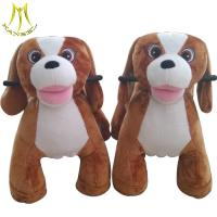 China Hansel entertainment outdoor playground plush animal ride on toys for sale on sale