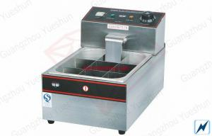 China Counter Top Electric Donut Fryer / YS-15 / Electric Fryer / Stainless Steel / 1.5KW Power on sale