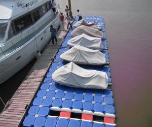 Quality Ponton de HDPE pour des jetées de mobile de police for sale